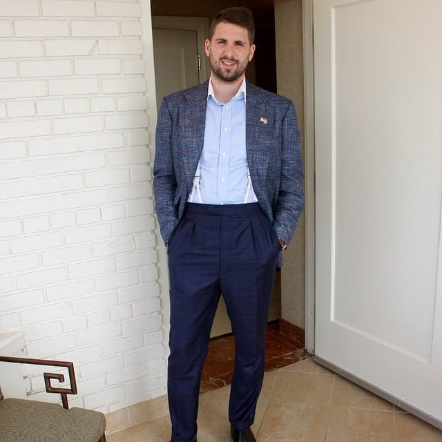 bespoke custom sports coat Matthew DeBoise 4