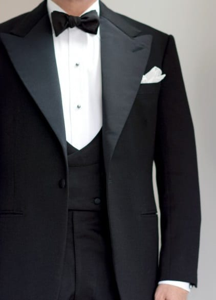 bespoke tailored dinner suit - Fred Astair Inspired, made for Voxsartoria 3