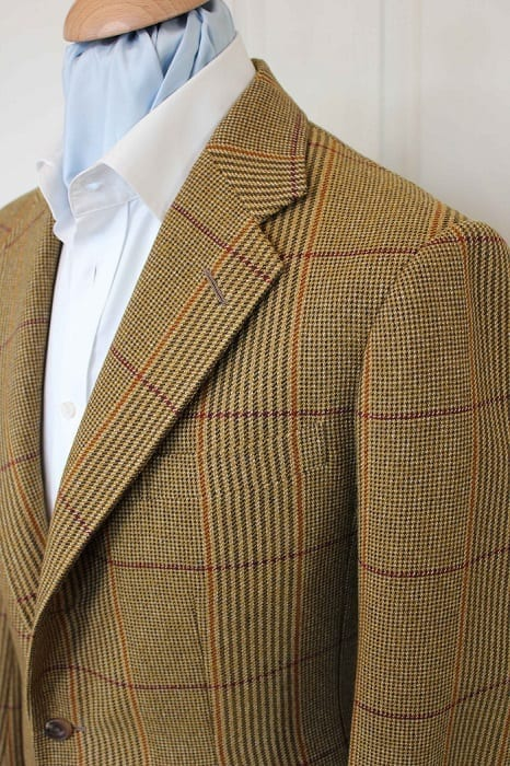 custom bespoke jacket detail 11