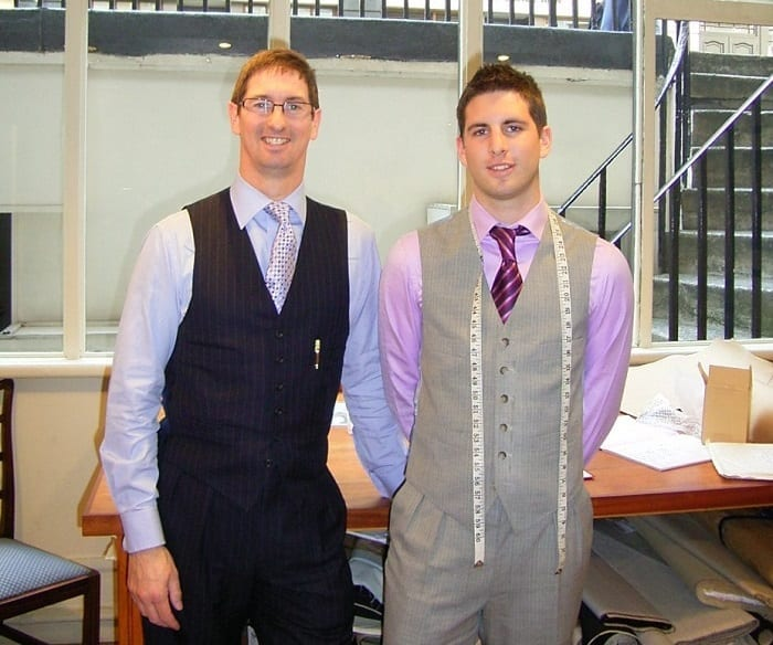 custom bespoke suit tailors Edwin Matthew DeBoise Savile Row London