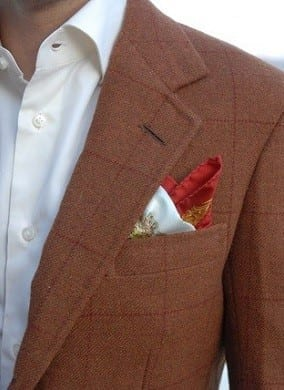 bespoke tailored suit jacket LL Shetland Jacket 2 thumbnail